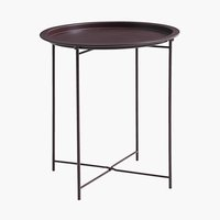 End table RANDERUP D47 burgundy