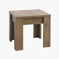 End table VEDDE 50x50 oak