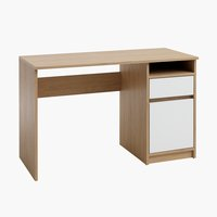 Desk BILLUND 54x120 white/oak
