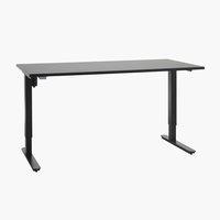 Íróasztal SLANGERUP 80x160 fekete