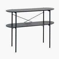 Console table PEDERSKER 36x100 black