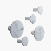 Knobs HADSTEN marble 5 pack