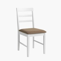 Dining chair FARSTRUP white