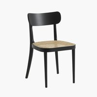Dining chair FAURHOLT black/natural