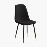 Dining chair JONSTRUP black/gold