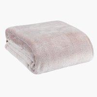 Pléd KRATTFIOL 200x220 rózsaszín