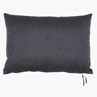 Cushion LILJE velour 35x50 grey
