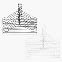 Hangers TONNI wire 10 pack ass.