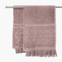 Håndklæde SVANESUND 50x70 gråbrun