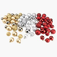 Christmas bauble AMMOLIT 26 pack