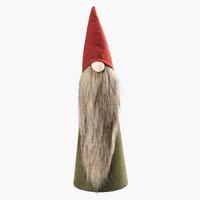 Weihnachtswichtel HELIODOR H42cm grün