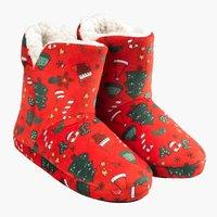 Slippers ALVALDE size 36-41 red