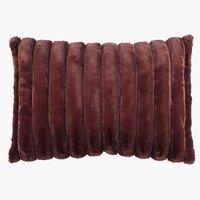 Подушка KORNSTEN бархат 35x50 см красный