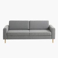 Sofa SVALBARD 3-seter lys grå