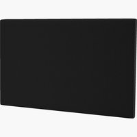 Hoofdbord 180x115 H10 effen zwart-07