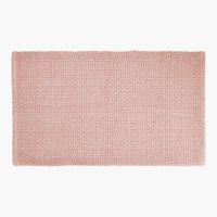 Tapete banho NOLVIK 65x110cm rosa