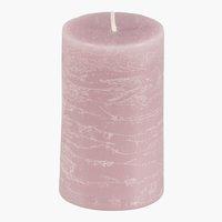 Stumpenkerze EILEF Ø5xH8cm rosa