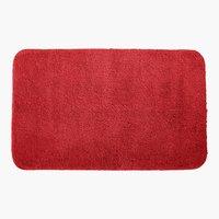 Tapete banho UNI DE LUXE 50x80 vermelho