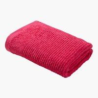 Handtuch LIFESTYLE dunkelpink
