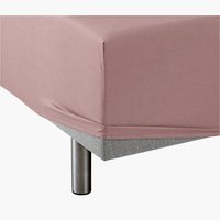 Fitted sheet KNG taupe KRONBORG