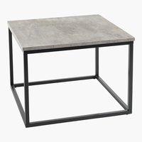 Couchtisch DOKKEDAL 60x60 beton/schwarz