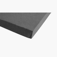 Jersey-Spannleintuch150x200x30cm grau