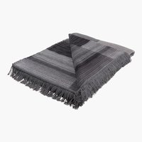 Plaid COTTON HOME 150x200 grigio/crema