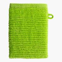 Waschhandschuh LIFESTYLE grün
