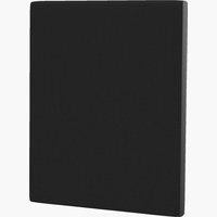 Sengegavl H10 PLAIN 120x115 svart-10