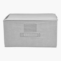 Caja JAKOB A23xL43xA33 cm gris