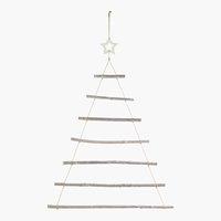 Weihnachtsbaum ALSVIN H140cm Holz