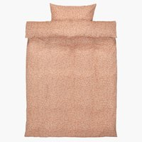 Parure de lit BELLA Micro SGL rose