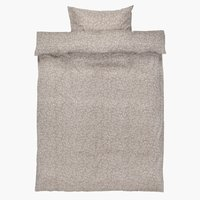 Set posteljine BELLA mikro 140x200 siva