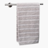 Asciugamano ospite SOFIL STRIPE grigio