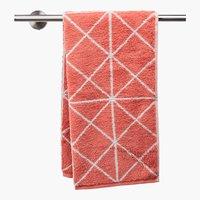 Asciugamano GRAPHIC rosa antico