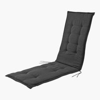 Relaxstuhl-Auflage HALDEN 164x50x4 grau