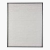 Zanzariera NYORD 130x150 grigio