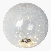 Kugel-Solarleuchte 25cm Glas