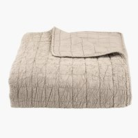 Bed throw BALLBLOM 240x260 beige