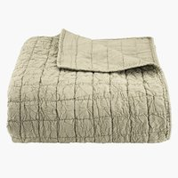 Bed throw BALLBLOM 240x260 green