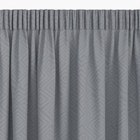 Zavjesa LYGNE 1x140x300 žakard siva
