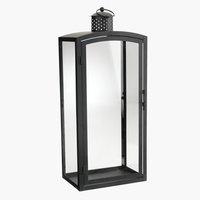 Lanterna REINAR P17xL25xH60cm nero
