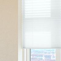 Plisségardin HOVDEN 130x160cm hvid