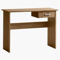 Psací stůl KARUP 40x100 divoký dub