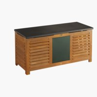Cushion box SANTA FE W128xH62xD53 wood