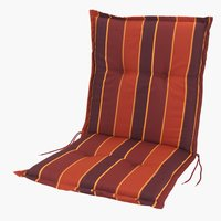 Coussin chaise dossier h. SEVILLA rouge
