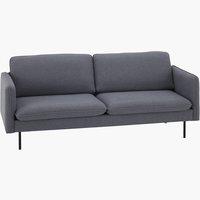 Sofa DIANALUND 3-Sitzer grau