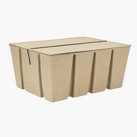 Caixa arrumação BJORK L40xC30xA18 recicl