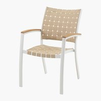 Chaise empilable JEKSEN blanc