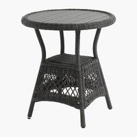 Cafébord MAGLEBJERG Ø70 grå